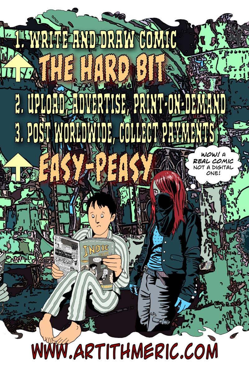 Steve Bee Blog Helping Comic Book Creators Monetise Their Art Part 1